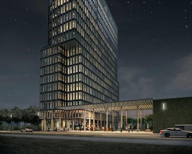 A-TOWN HIGH: auch nachts ein architektonisches HIGHlight