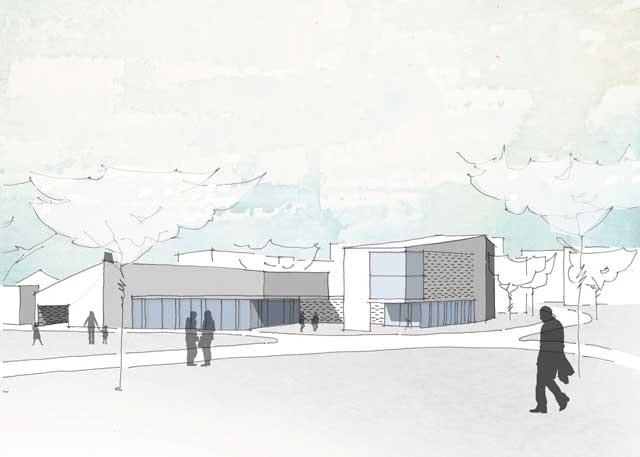 Neubau Bürgerhaus und Mediathek der Stadt Staufen