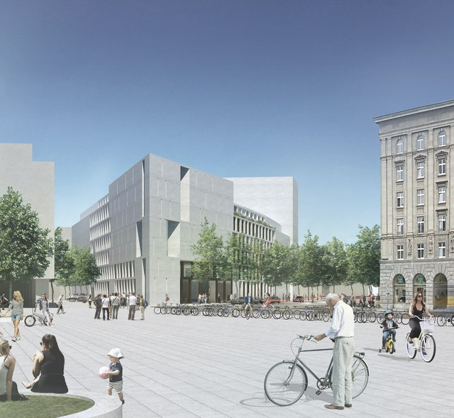 Neubau des Leibniz-Instituts für Länderkunde Leipzig