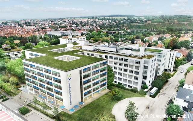 Umbau und Erweiterung Krankenhaus Bietigheim / Objektplanung für Gebäude und Innenräume nach § 34 HOAI