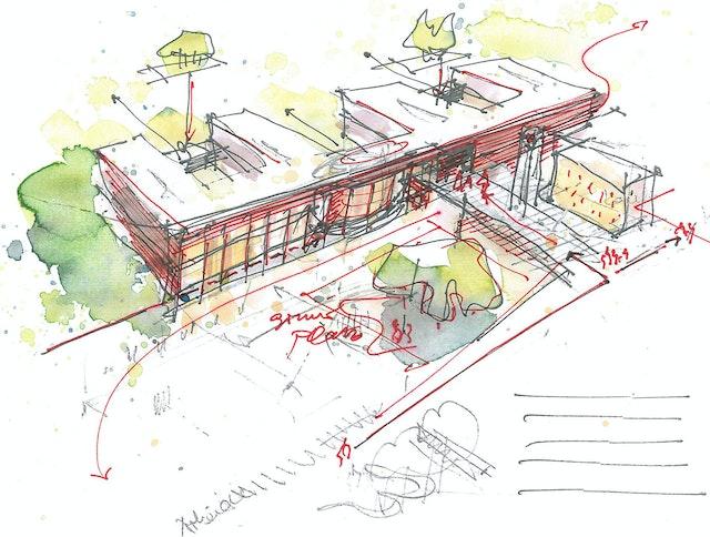 Neubau einer Fachpflegeeinrichtung für Demenzkranke und Kurzzeitpflegeeinrichtung in Harderberg