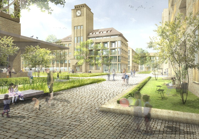 Entwicklung des Areals der ehemaligen Sternburg-Brauerei Leipzig-Lützschena