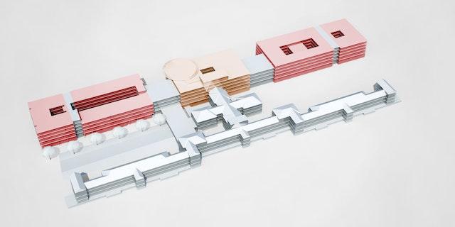 Neubau Multifunktionsgebäude, Bundeswehrkrankenhaus Hamburg, Lesserstraße 180, 22049 Hamburg, Objektplanung gem. § 34 HOAI 2013