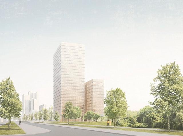 Neubau der Zentrale der Bayerischen Versorgungskammer (BVK) in München