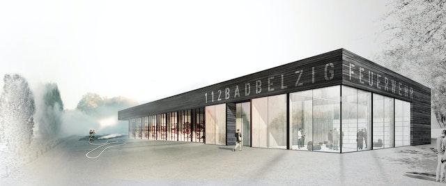 Neubau Stützpunktfeuerwehr Bad Belzig