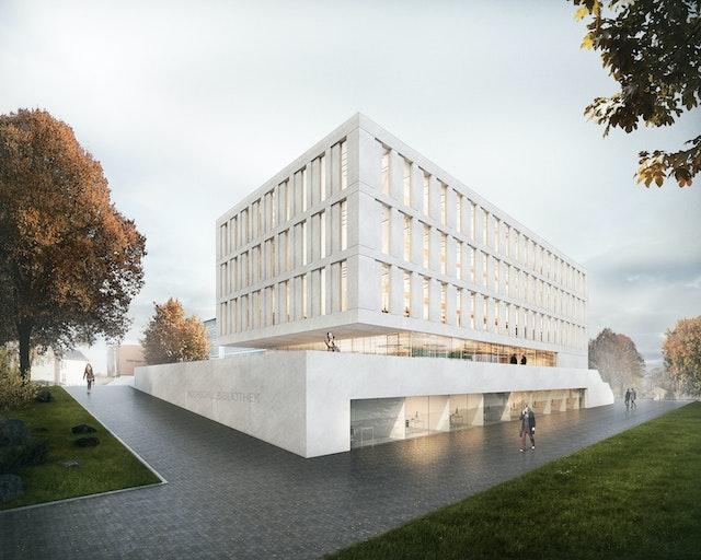 Neubau Hochschulbibliothek der HS Mittweida