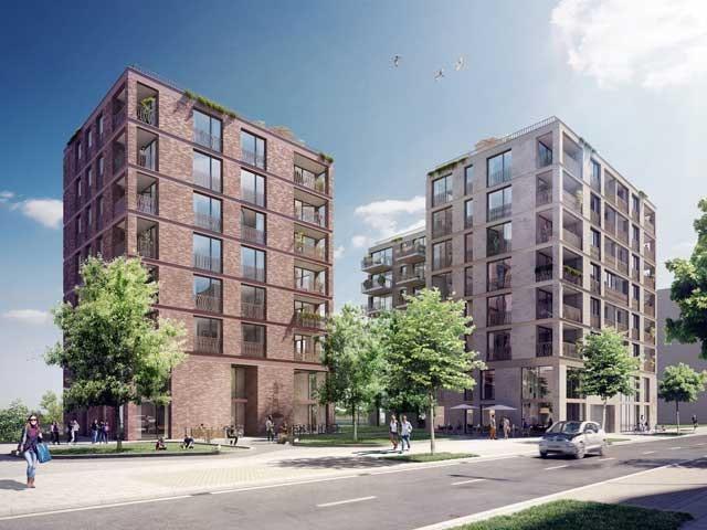 Baufeld 96 - Familienorientierter Wohnungsbau in der HafenCity Hamburg