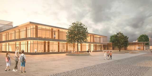 Erweiterung der Gesamtschule und Neubau eines Hallenbades in Verl