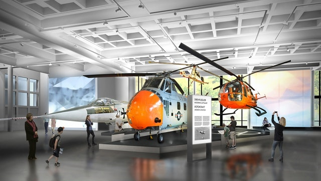 """Deutsches Museum München - Ausstellungsgestaltung Dauerausstellungen """"Luft- und Raumfahrt"""""""