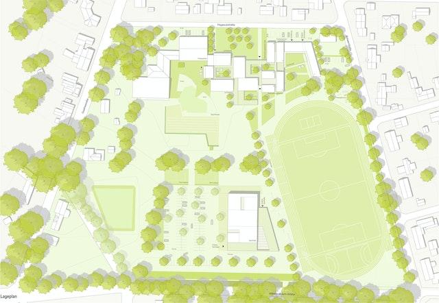 Erweiterung und Teilneustrukturierung der Sportschule Lastrup