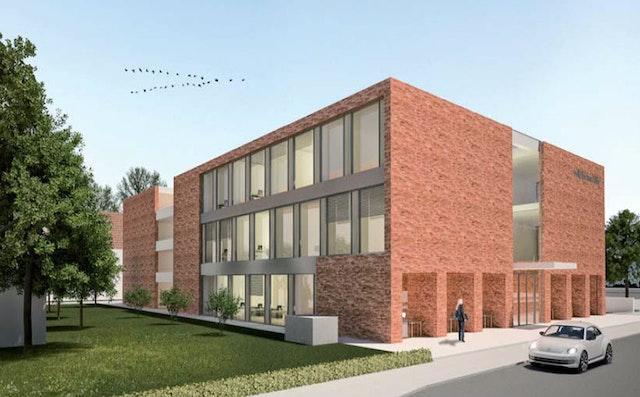 Bürogebäude und mehrgeschossige Wohnbebauung in Göttingen