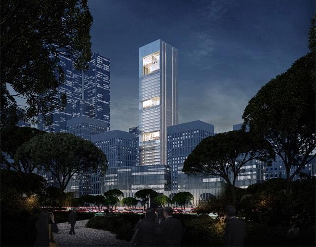 Hengli International Building in Shenzhen