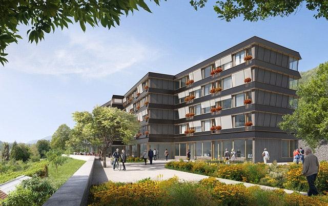 Neubau und Umbau Schlössliheim Pieterlen (CH)