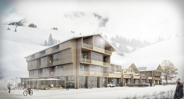 Erweiterung und Neustrukturierung HUBERTUS Alpin Lodge & Spa