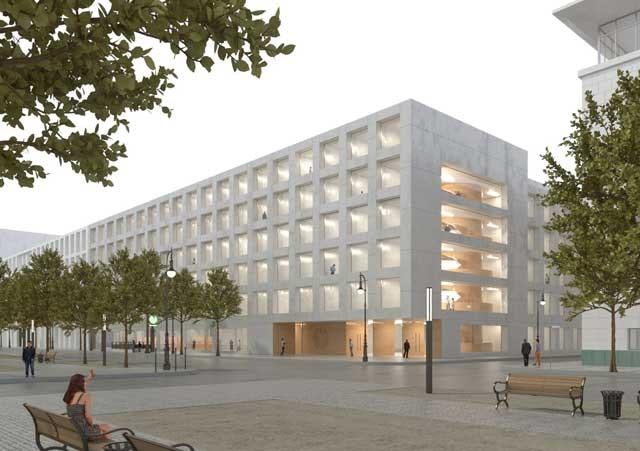 Neubau des Elisabeth-Selbert-Hauses - Unter den Linden in Berlin