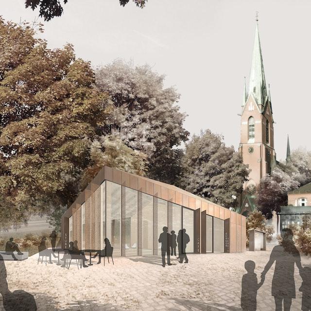 Neubau Marktgemeinschaftshaus in Blankenese