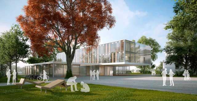 Forschungscampus DESY in Zeuthen: Campus-Masterplanung und Neubau des CTA-Science Data Management Centre