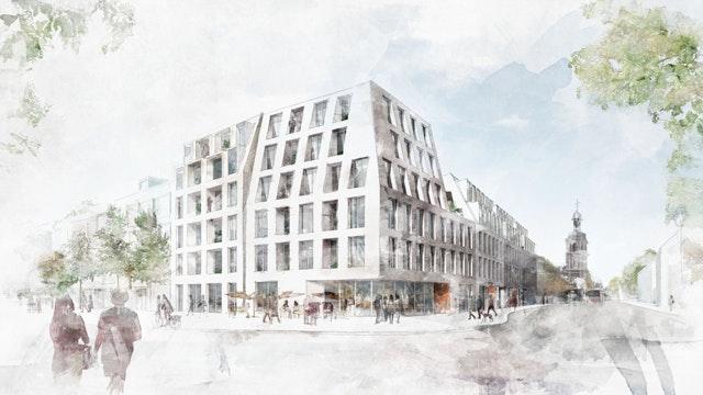 Visualisierung Frankfurter Straße / Friedensplatz