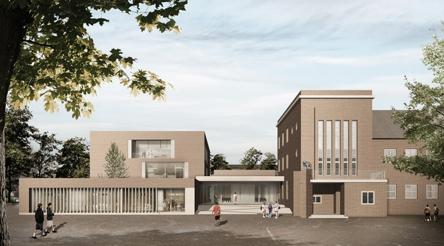 Multifunktionskomplex Gesamtschule Osterfeld