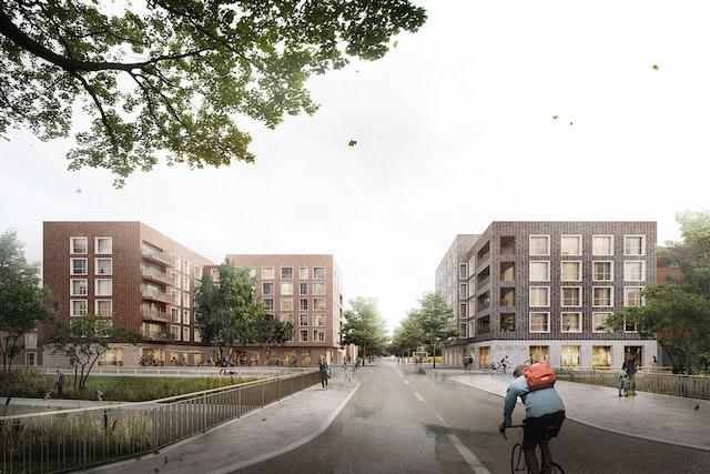 Entwicklung der Quartiersmitte Jenfelder Au in Hamburg - Baufelder 9 und 11 (Nord)