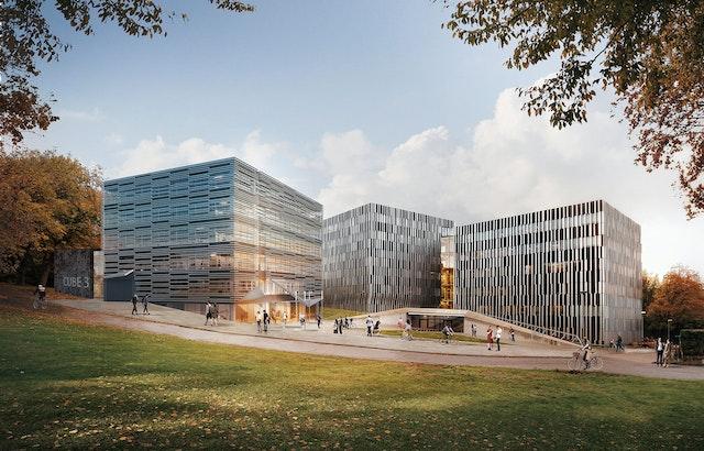 Neubau von drei Instituten der Elektrotechnik an der RWTH Aachen