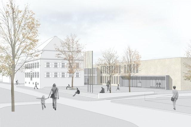 Erweiterung und Sanierung Rathaus und Umgestaltung Rathausareal Appenweier