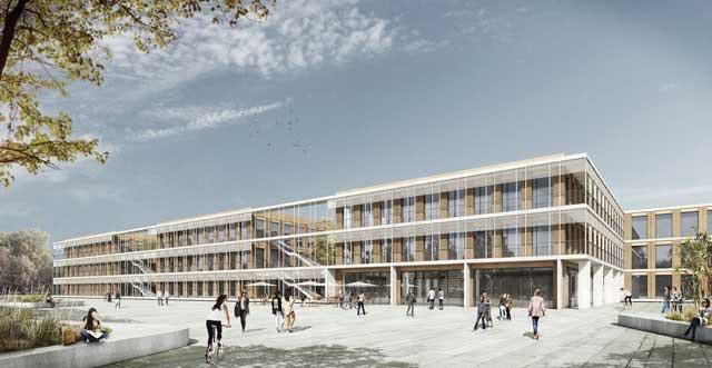 Neubau Gymnasium Essen Nord-Ost