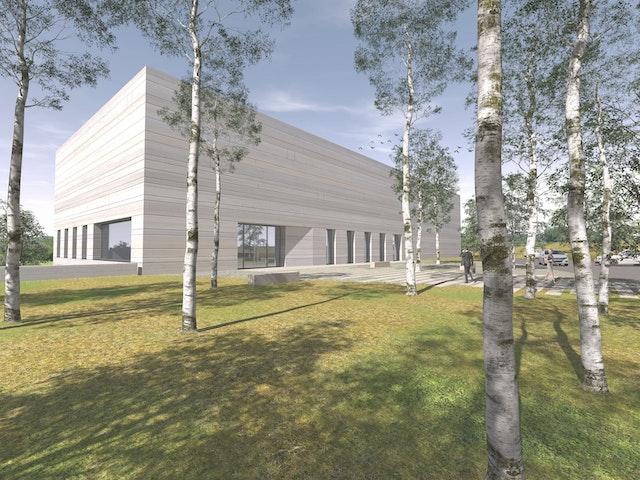 Neubau Landeskirchliches Archiv