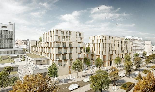 Neubebauung des City Centers in Böblingen