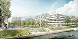 Perspektive Wasserseite_ Zusammenarbeit poitiers Architekten
