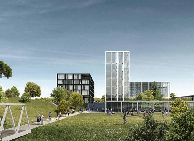 Masterplan für die Università Campus Bio-Medico (UCBM) in Rom
