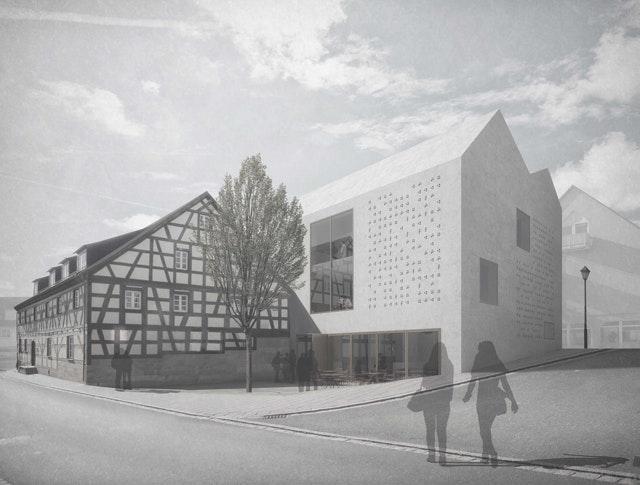 """Neubau und Erweiterung des """"Kulturquartiers Stein"""""""