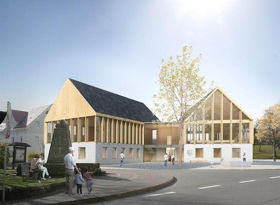 1. Preis: Perspektive, © Lieb+Lieb Architekten BDA