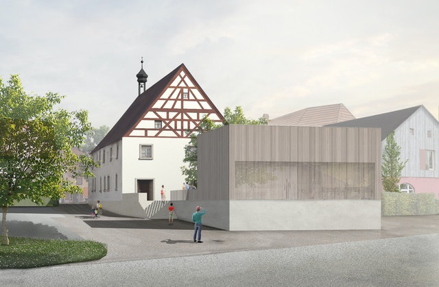 Erweiterung des denkmalgeschützten Bartholomäusspitales in Hollfeld