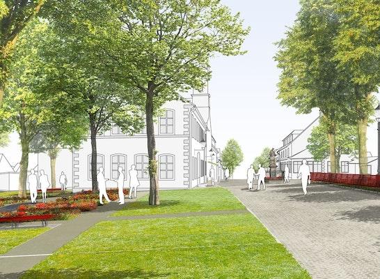 Perspektive Schlossgarten