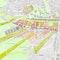 Plan masse du projet lauréat ARGE_PH (2004)