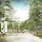 Blick vom Gärtnerhaus in das Baumschulwäldchen, © scape Landschaftsarchitekten