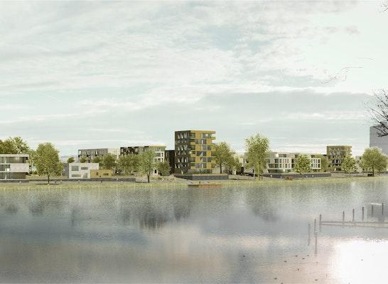 1. Preis: Panorama, © kfs Architekten BDA + Andresen Landschaftsarchitekten