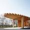 """Ökumenischer Kirchenpavillon auf der Landesgartenschau Landau """"Himmelgrün"""""""