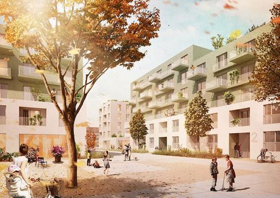 1. Preis Städtebauliches Konzept
