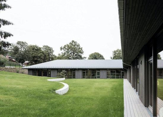 1. Preis | Kategorie Öffentliche Nutzung: Schulhaus Gornsdorf, Löser Lott Architekten GmbH, © Löser Lott Architekten GmbH