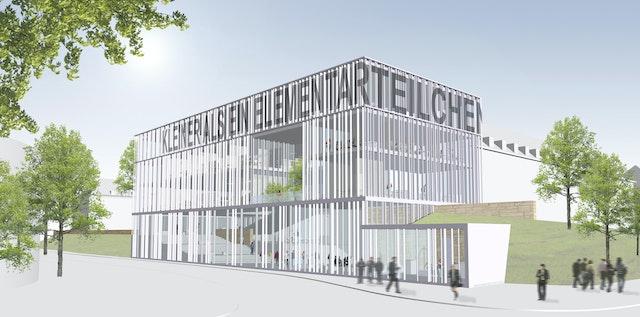 Neubau eines Innovation Centers auf dem Campus der Universität des Saarlandes