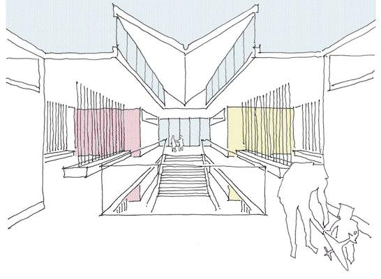 1. Preis: Perspektive, © schleicher.ragaller freie architekten bda