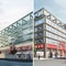 Zwei 1. Preise - links: Lengfeld & Wilisch Architekten BDA; rechts: BLOCHER BLOCHER PARTNERS Architecture and Design