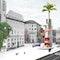 Platzansicht: Blick Karl-Marx-Str Richtung Richardstraße
