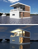 Floating House, Ostsee