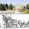 Zwei 1. Preise - oben: czerner göttsch architekten, Wiggenhorn & van den Hövel Landschaftsarchitekten; unten: kfs krause feyerabend sippel partnerschaft, ter Balk Landschaftsarchitekt