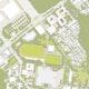 Lageplan der Bertolt-Brecht-Schule und der Grundschule mit Hort sowie der dazugehörigen Sportflächen