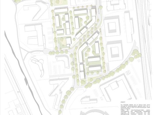 1. Preis: Rahmenplan, © BURHOFF und BURHOFF Architekten BDA