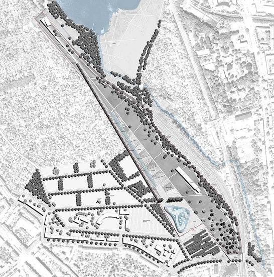 Lageplan BUGA Areal Hopfenbruchpark